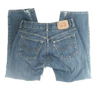 Levi's 505 Regular Blue Jeans, Boys 10 Husky